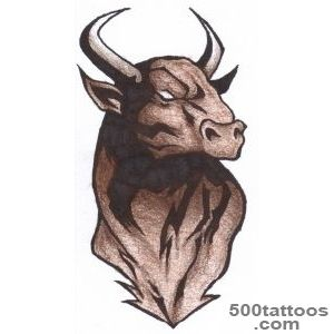 Bull Tattoos, Designs And Ideas  Page 6_12