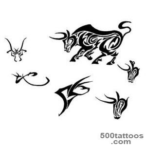 Some Designs Of Bull Tattoos  Tattoobitecom_42