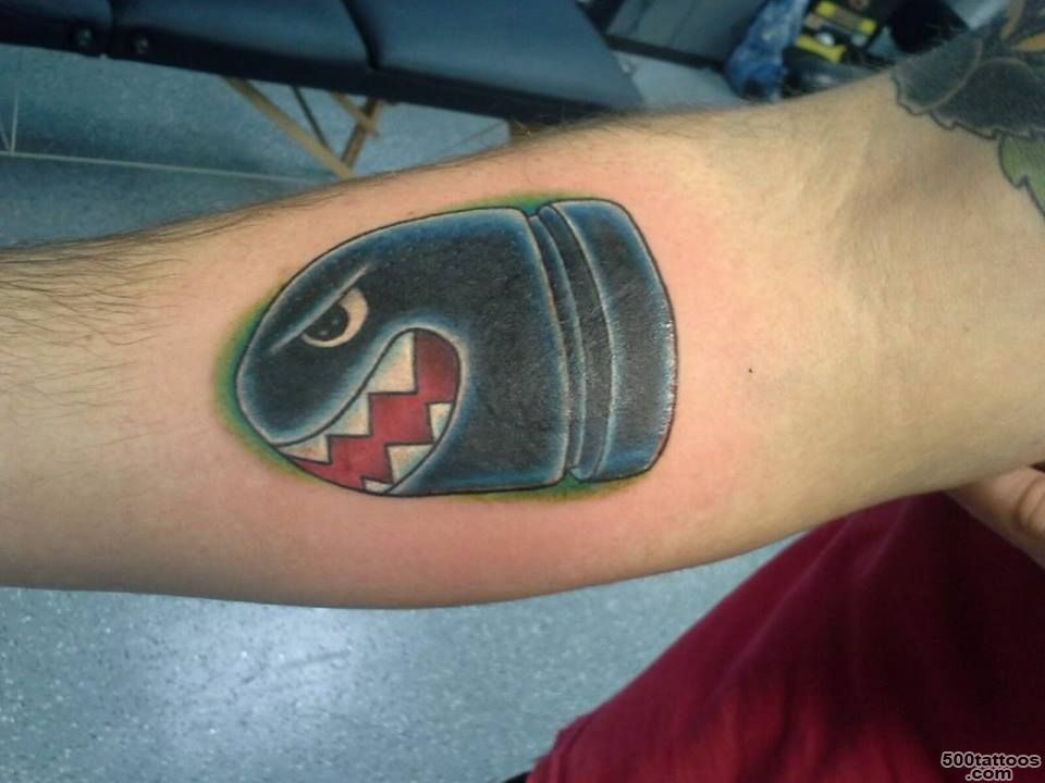 Pin Mario Bullet Tattoo on Pinterest_25