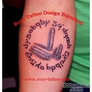25 Latest Bullet Tattoo Images, Pictures And Ideas_4