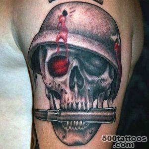 60 Bullet Tattoos For Men   A Shot Of Design Ideas_1