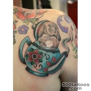 Bunny tattoo designs, ideas, meanings, images