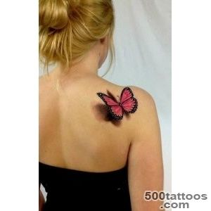 Butterfly tattoo design, idea, image