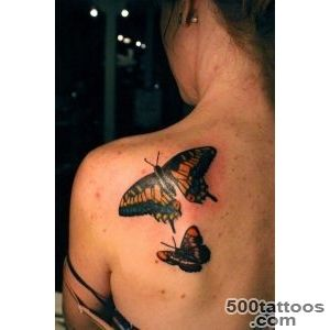 50+ Amazing Butterfly Tattoo Designs  Art and Design_48