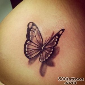 50 Amazing 3D Butterfly Tattoos_36