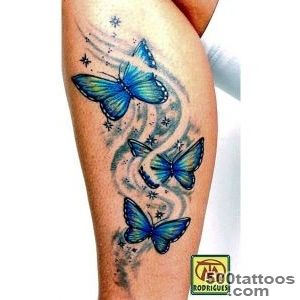 86 Stunning and Lovely Butterfly Tattoos and Designs_3