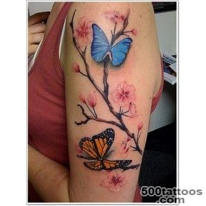 95 Gorgeous Butterfly Tattoos The Beauty and the Significance_17