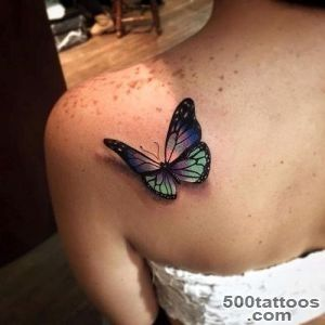 110 Small Butterfly Tattoos with Images   Piercings Models_13