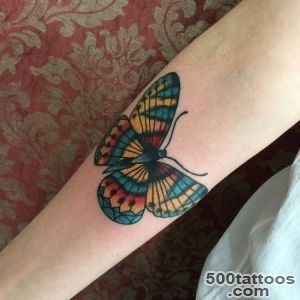 169 Most Attractive Butterfly Tattoos [2016 Collection]_23