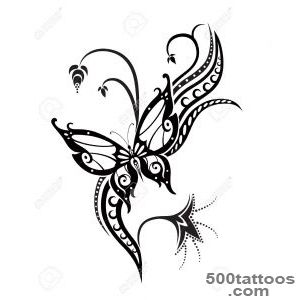 Butterfly Tattoo Images, Stock Pictures, Royalty Free Butterfly _26