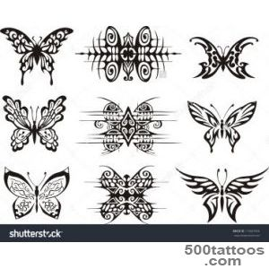 Butterfly Tattoo Stock Photos, Images, amp Pictures  Shutterstock_45