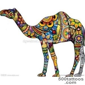 12 Camel Tattoo Images, Pictures And Ideas_12
