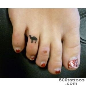Pin Pin Black Camel Tattoo On Foot Thumb Pinterest on Pinterest_37JPG