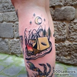 Pin Camping Tattoo Tattoos Ideas Beautiful on Pinterest_3