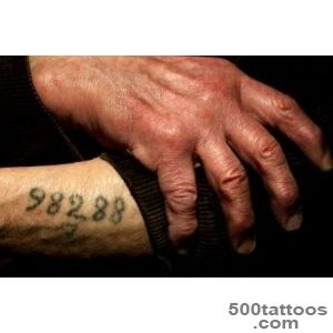 Pin Concentration Camps Tattoo Numbers Nazis on Pinterest_22