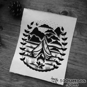 Tattoo Camp SPb — By @june_nu ??? #tattooflash #watercolor_10