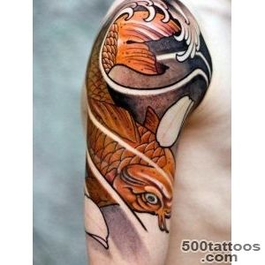 35 Traditional Japanese Koi fish Tattoo Meaning and Designs   True _4