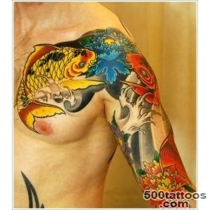 40 Beautiful Koi Fish Tattoo Designs_21