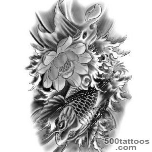 Aliexpresscom  Buy Tattoo stickers,Brocade carp tattoo paste _47