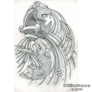 Carp Fish Tattoo Images amp Designs_11