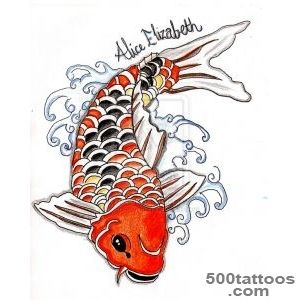 Carp Fish Tattoo Images amp Designs_40