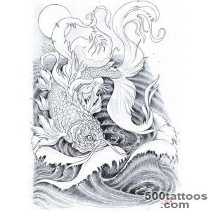 Pin Golden Carp Tattoo By Koggg Designs Interfaces Design 2011 _46