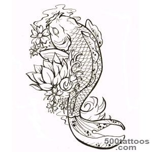 Pin Koi Fish Outline Tattoo Best Eye Catching Tattoos on Pinterest_14