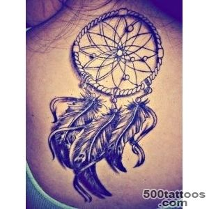 23+ Latest Dream Catcher Tattoos_20