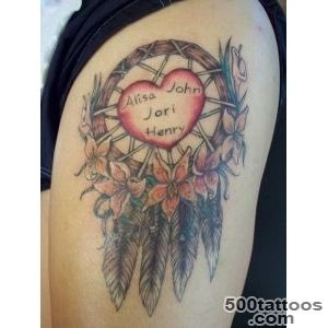 50 Dreamcatcher Tattoo Designs for Women  Art and Design_18