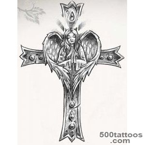 50 Cross Tattoos  Tattoo Designs of Holy Christian, Celtic and _35