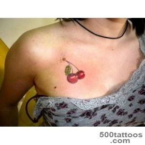 Cherry Tattoo   Designs and Meaning  TattoosandPiercingsnet_45