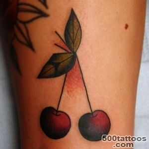 Cherry Tattoos, Designs And Ideas  Page 12_6