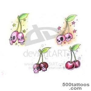 Cherry Tattoos, Designs And Ideas  Page 14_26