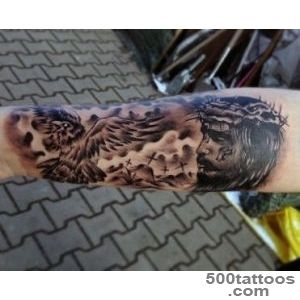 100 Christian Tattoos For Men   Manly Spiritual Designs_11