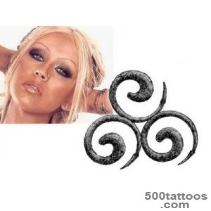 Christina Aguilera Tattoos Archives   TattooTemptation_35