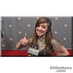 Christina Grimmie  Mom#39s Advice amp Tattoo  The Voice S6 Top 12 _38