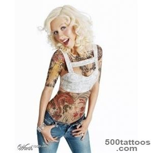 Tattooz Designs Christina Aguilera Tattoos Designs Christina for _19