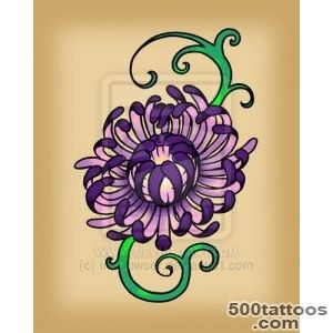 20+ Awesome Chrysanthemum Tattoo Designs_46