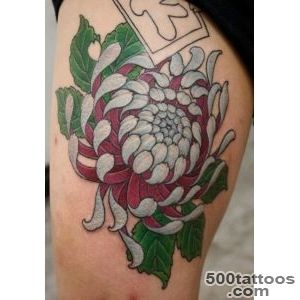 40 Beautiful Chrysanthemum Tattoo Ideas  Art and Design_2