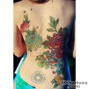 40 Beautiful Chrysanthemum Tattoo Ideas  Art and Design_28