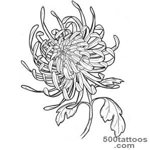 A Chrysanthemum Tattoo Design  Fresh 2016 Tattoos Ideas_35