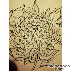 Butterfly Chrysanthemum Tattoo Design  Fresh 2016 Tattoos Ideas_36