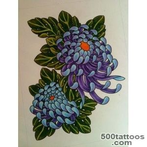 Chrysanthemum Tattoos, Designs And Ideas  Page 7_7