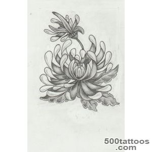 Chrysanthemum Tattoos, Designs And Ideas  Page 9_9
