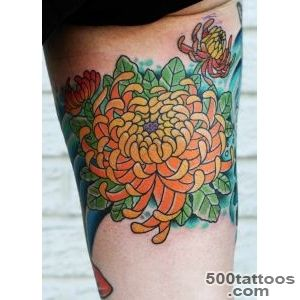 Chrysanthemum Tattoos  Fresh 2016 Tattoos Ideas_26