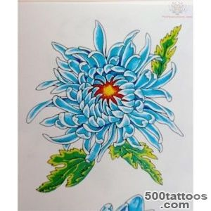 CHRYSANTHEMUM TATTOOS   Tattoes Idea 2015  2016_19