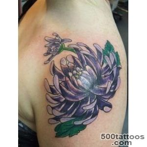 CHRYSANTHEMUM TATTOOS   Tattoes Idea 2015  2016_42