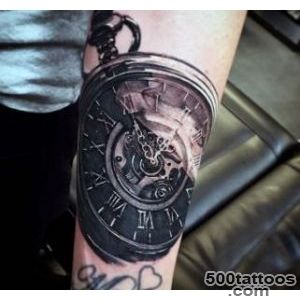 clock tattoo designs ideas meanings images. Black Bedroom Furniture Sets. Home Design Ideas