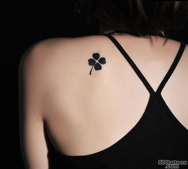 30 Four Leaf Clover Tattoos To Ink_48