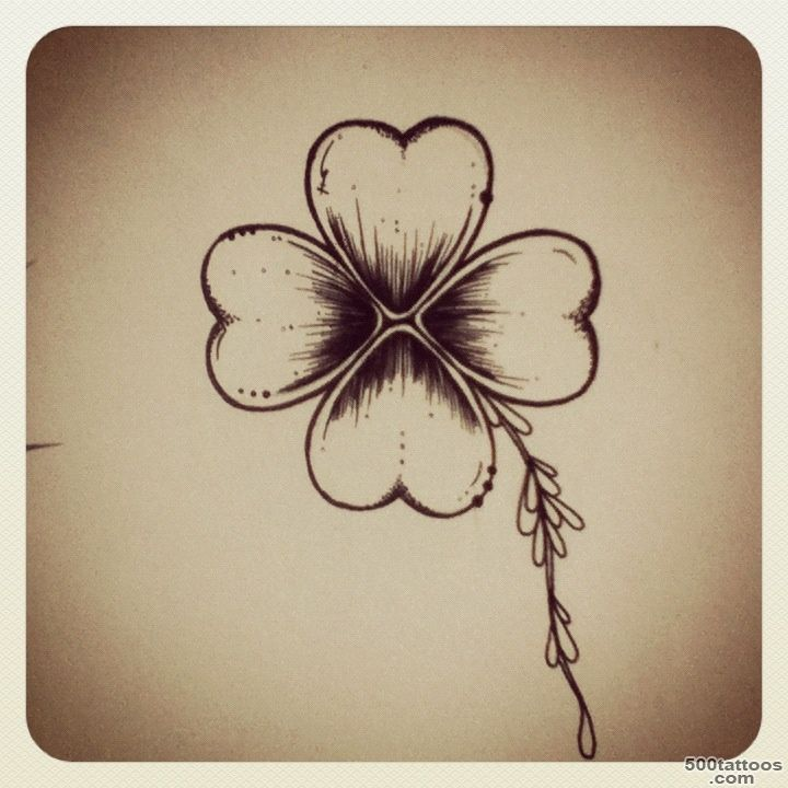 1000+ ideas about Four Leaf Clover Tattoo on Pinterest  Shamrock ..._2